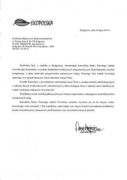 rekomendacja-EKOPOLSKA